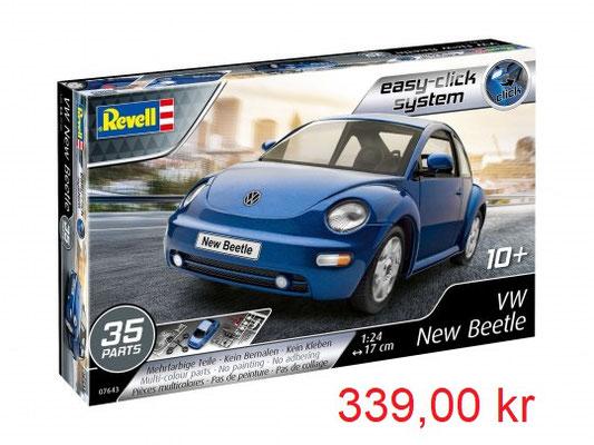 Revell Model Set VW New Beetle Easy Click