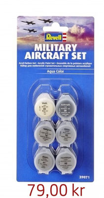 Revell Military Aircraft Set