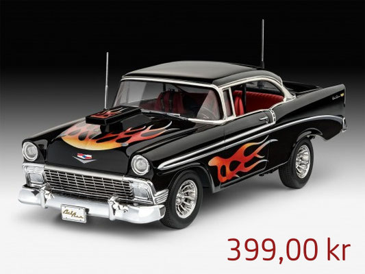 Revell Model Set 56 Chevy Customs ,Art.67663
