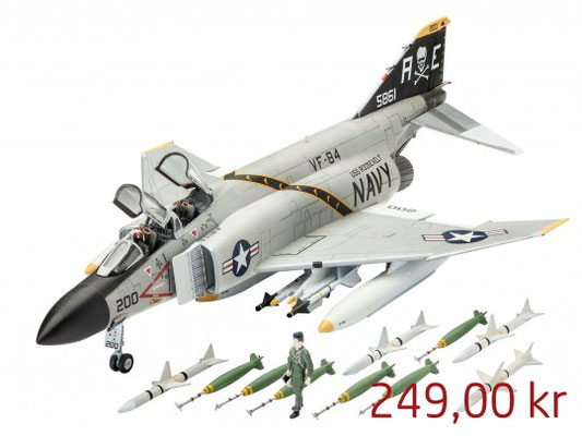 Revell Model Set F-4J Phantom II ,Art. 63941