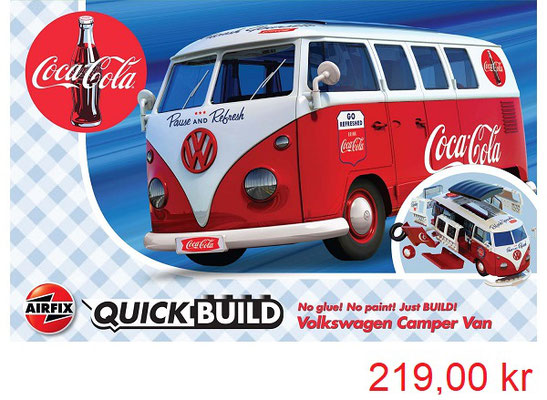 Airfix Quick Build Coca Cola VW Camper Van
