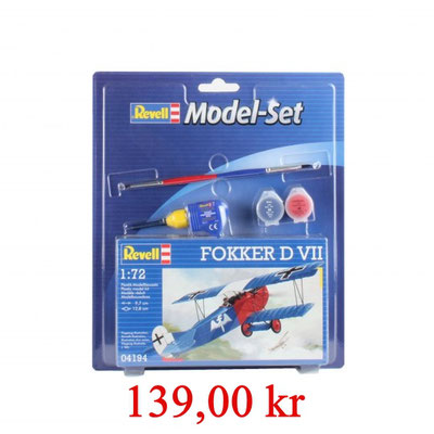 Revell Model Set Fokker D VII