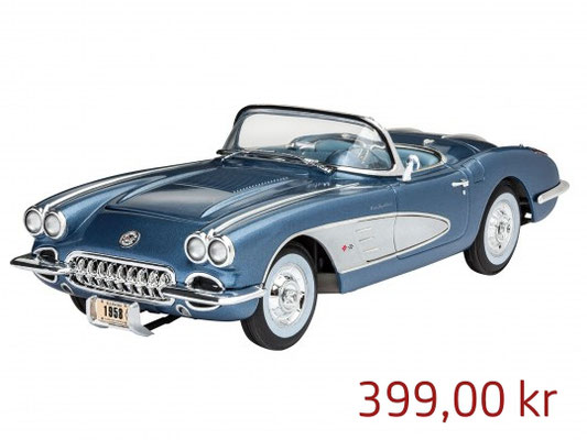 Revell Model Set 58 Corvette Roadster ,Art.67037