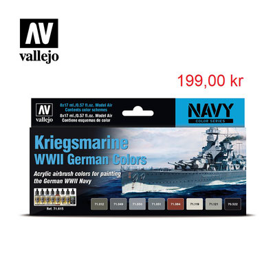 Kriegsmarine WW II German Colors Art:71615