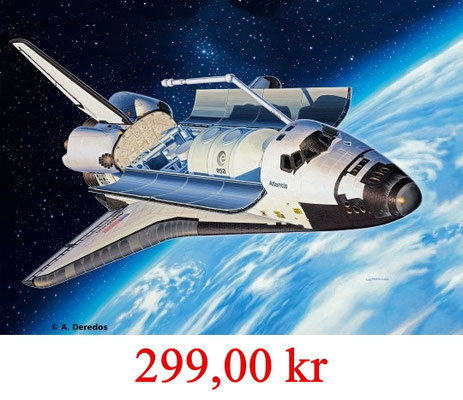 Revell Model Set Space Shuttle Atlantis