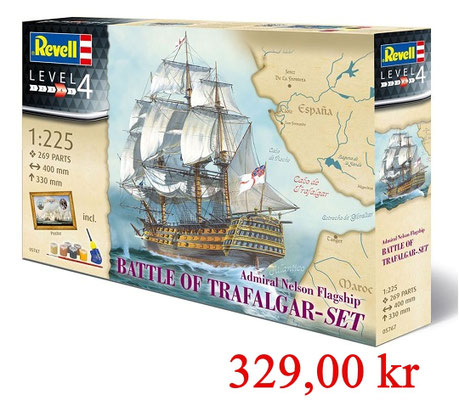 Revell Model Set Battle of Trafalgar