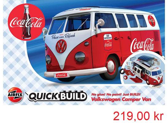 Airfix Quick Build Coca Cola VW Camper Van
