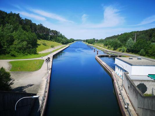 Schleuse Hilpoltstein (Main-Donau-Kanal)