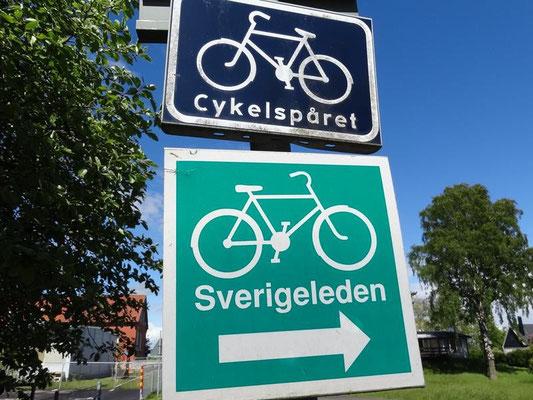 Sverigeleden (Schwedenroute), wird mich lange Zeit begleiten