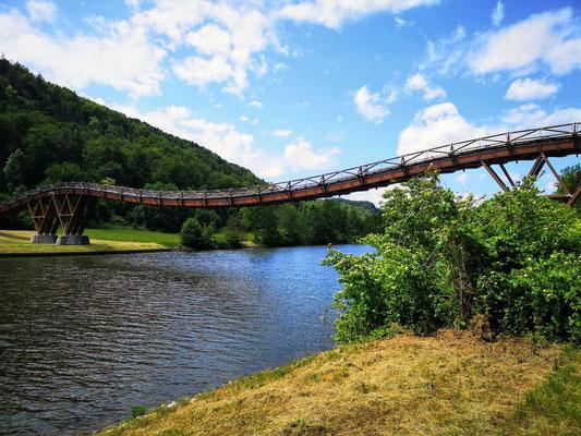 Die Tatzelwurmbrücke bei Essing