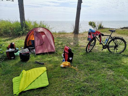 Ballen Strandcamping auf Samsö