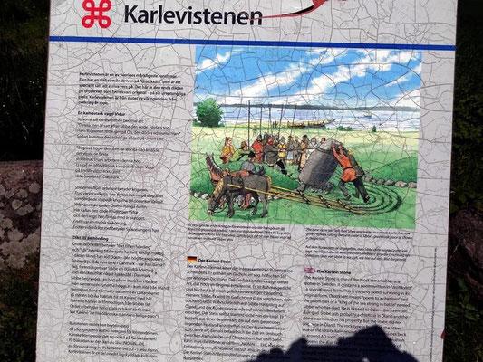 Karlevistenen, Mörbylånga, Schweden