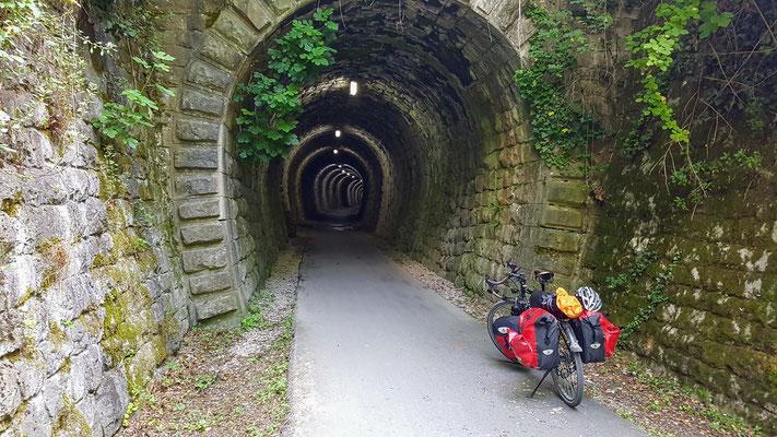Paranzera Radweg