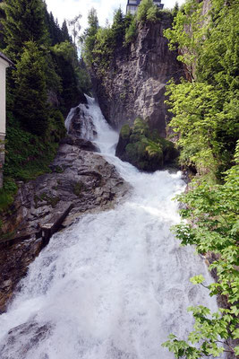 Wasserfall in Bad Gastein.