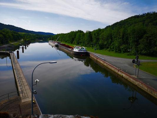 Schleuse am Main-Donau-Kanal