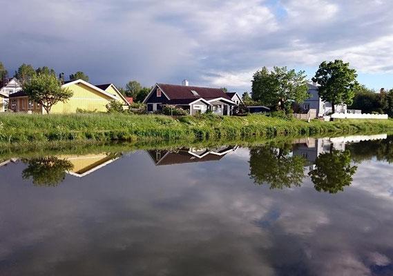 Idylle am Kanal