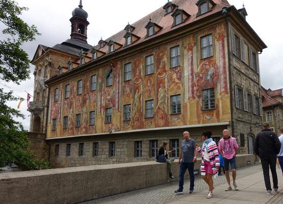 Bamberg am alten Rathaus