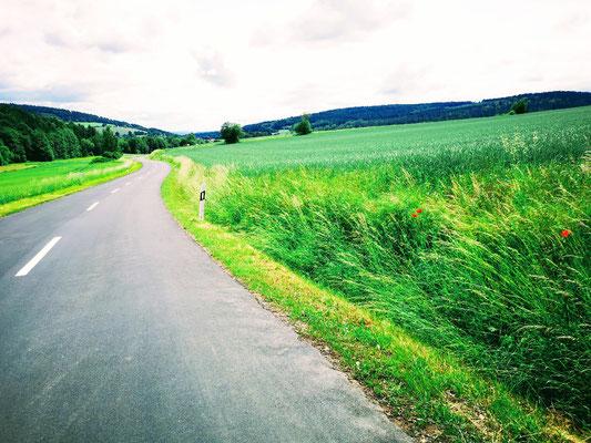 tolle Straßen in der Rhön