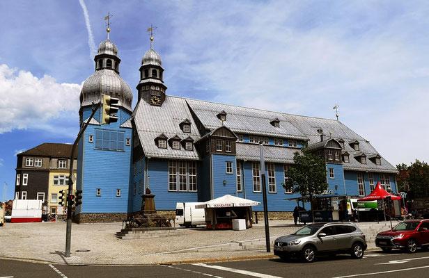 Clausthal-Zellerfeld, Marktkirche zum Heiligen Geist