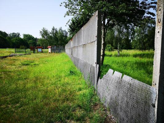 Ehemalige Grenzanlage bei Wiedelah