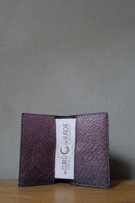 Les cuirs du Vuache Porte-cartes en cuir de poisson