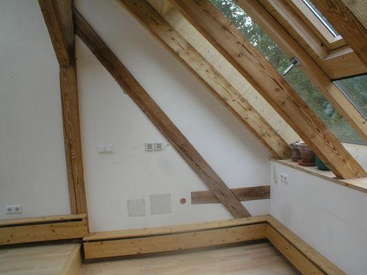Vorsatzschale Dachgeschoßausbau
