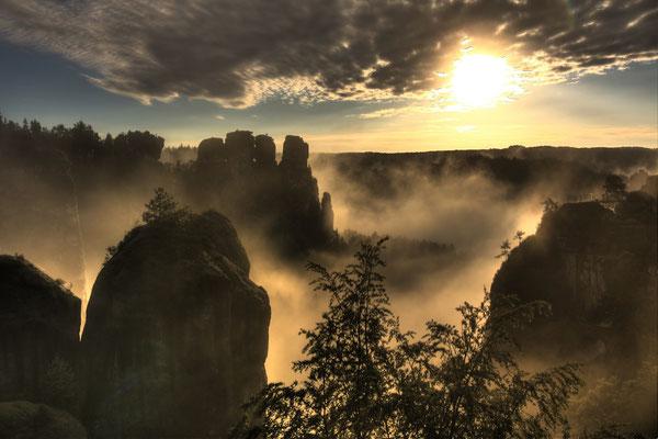 Silke Erler - Sonnenaufgang Bastei