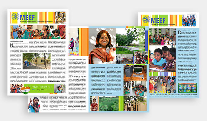 MEEF Schule, Indien, Jahresbericht