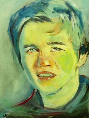 Portrait (acrylique)