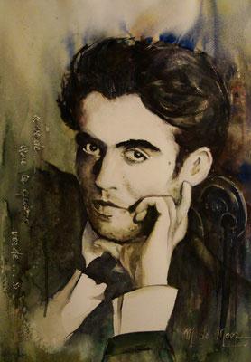 Garcia de Lorca (aquarelle)