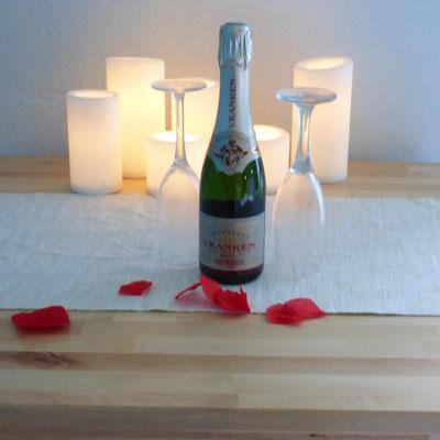 Ambiance romantique.