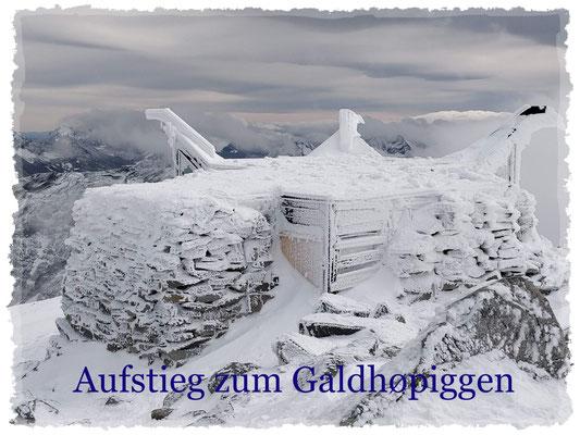 Aufstieg zum Galdhøpiggen