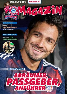 Cover KidsClub Magazin 22