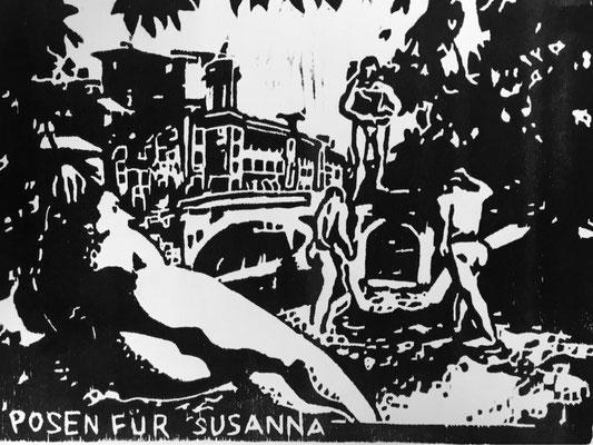 Susanna Schwarz - Posen für Susanna