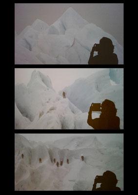 Natascha  Auenhammer - Self Portrait in the Mountains