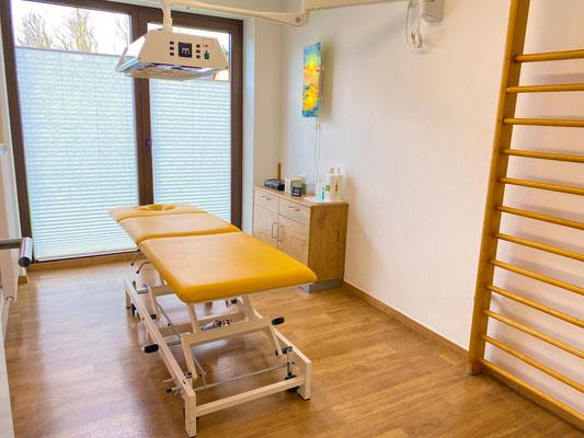 Eines der Behandlungszimmer