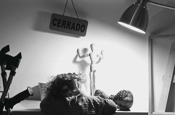 Fotografía seleccionada para exposición No mas institucionalizaciones de mujeres y niñas con discapacidad. Fundación CERMI.