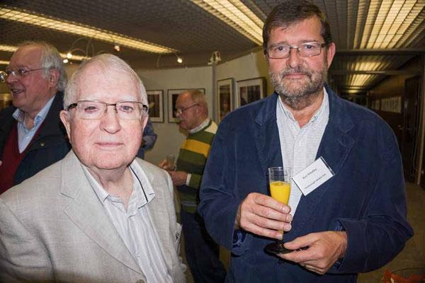 Die beiden englischen Gäste John Childs (links) und Ken Whalley