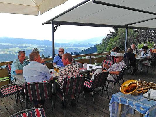 Mittagessen im Hotel Ochsen Sulzberg Oe