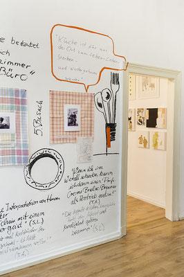 Ausstellung KÜCHENBESUCHE 1, Silvia Liebig, Thomas Autering, blam! Produzentengalerie