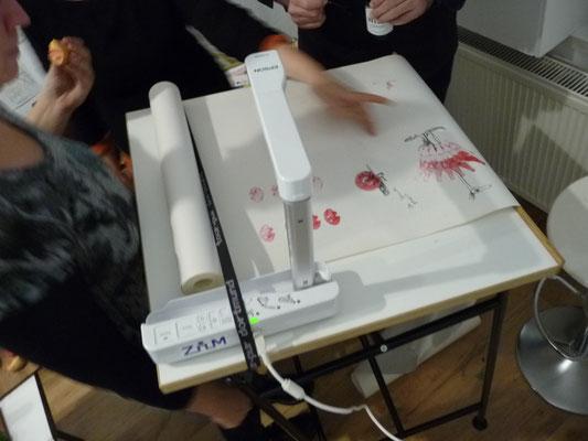 Ausstellung EINTOPF 14, Silvia Liebig, Thomas Autering, blam! Produzentengalerie