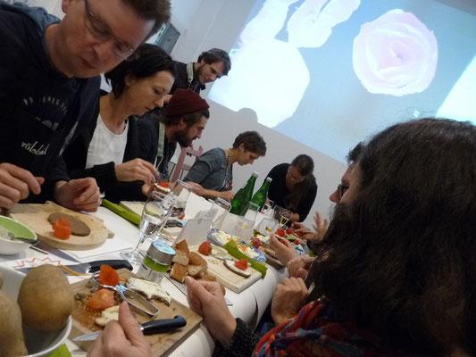 Ausstellung EINTOPF 4, Silvia Liebig, Thomas Autering, blam! Produzentengalerie