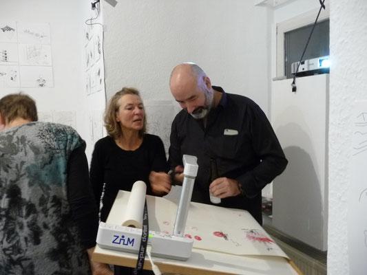 Ausstellung EINTOPF 13, Silvia Liebig, Thomas Autering, blam! Produzentengalerie