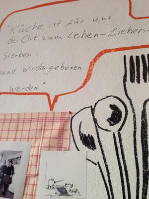 Ausstellung KÜCHENBESUCHE 8, Silvia Liebig, Thomas Autering, blam! Produzentengalerie