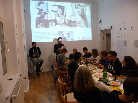 Ausstellung EINTOPF 11, Silvia Liebig, Thomas Autering, blam! Produzentengalerie