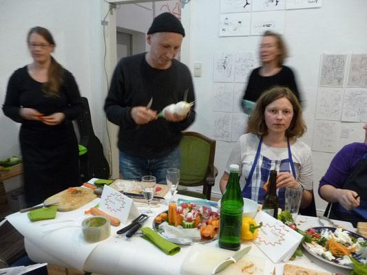 Ausstellung EINTOPF 16, Silvia Liebig, Thomas Autering, blam! Produzentengalerie