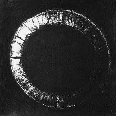 Serie SOUND, Ton 14, Grafit Zeichnung Thomas Autering