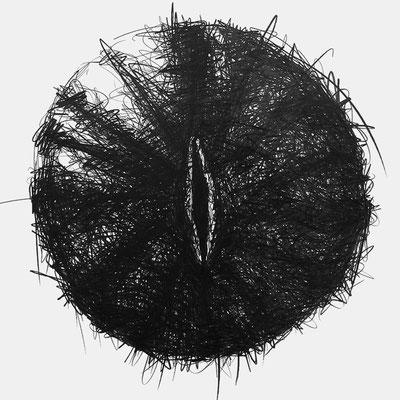 Serie SOUND, Ton 3, Grafit Zeichnung Thomas Autering