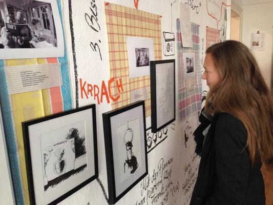 Ausstellung KÜCHENBESUCHE 5, Silvia Liebig, Thomas Autering, blam! Produzentengalerie