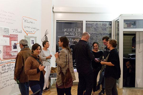 Ausstellung KÜCHENBESUCHE 3, Silvia Liebig, Thomas Autering, blam! Produzentengalerie